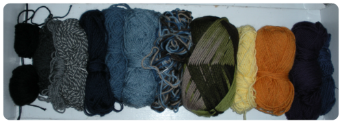 wool pieces
